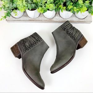 Steve Madden Chily Leather Ankle Boots Booties
